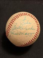 HOF JOE DiMAGGIO SIGNED AUTOGRAPHED OFFICIAL MLB BASEBALL YANKEES JSA CERTIFIED