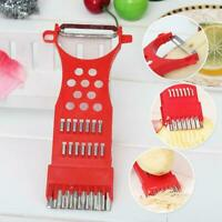 Multifunction Stainless Steel Vegetable Kitchen Peeler Gadget-#* T7Y5