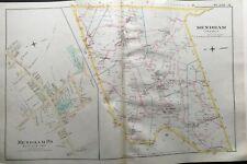 1887 MENDHAM TOWNSHIP MORRIS COUNTY NEW JERSEY ATLAS MAP