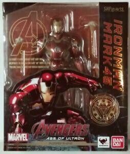 Bandai S.H.Figuarts Marvel Avengers Age of Ultron Iron Man Mark 45 AUTHENTIC