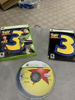 Toy Story 3 (Microsoft Xbox 360, 2010) Complete CIB - Tested Working Read