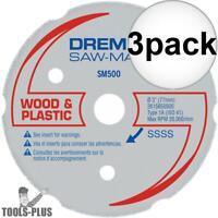 Dremel SM500 Multipurpose Carbide Wheel 3x New