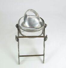 Sleek Mid-Century Modern Sterling Silver Ring