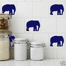 Elephant Tile Stickers Pack