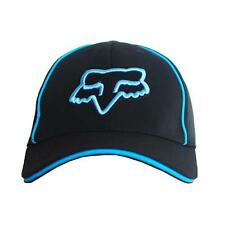 NWT Fox Men's Ball Sport Cap/Hat S/M Size FlexFit Black #19 Xmas Gift