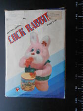 Luck Rabbit Drummer Whistle Vintage Battery Operated Toy