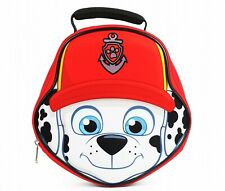 PAW PATROL MARSHALL Molded 3-D PVC & Lead-Free Insulated Lunch Tote Box Bag