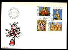 Liechtenstein 1976 Christmas, Sculptures FDC #C6202