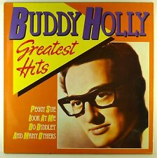 """12"""" LP-Buddy Holly-Greatest Hits-d794-cleaned"""