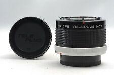 @ Ship in 24 Hrs! @ EXC! @ Kenko 2X CFE Teleplus MC7 Canon FD Lens Teleconverter