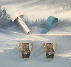 PEDAL STEEL GUITAR PLAYERS ~ 0225 NICKEL ~ MED BLUE 52M ~ 4 Pc PICKS / TUNER SET for sale