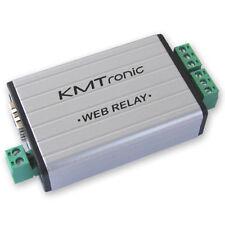 KMTronic LAN Ethernet IP 2 kanalen Relaisprint WEB