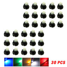 30X T3 Neo Wedge LED Instrument Cluster Panel Lamps Gauge Bulbs A/C Lights Great