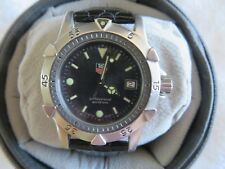 Tag Heuer 1500 model WD 1211-K-20 Stainless steel with Graphite Dial