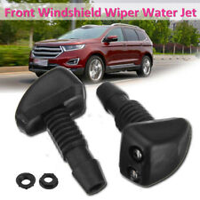 2Pcs Universal Car Windscreen Sprayer Washer Wiper Nozzle Front Window Spray Jet