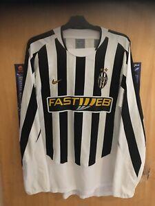 juventus shirt 2003-04 Size Large Long Sleeve
