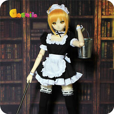 Fate/Zero Black Dark Saber Maid Ver. Dress Wig for Doll BJD Cosplay Costume Sa