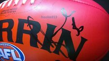 Signed Dane Swan Collingwood Magpies Autograph Red Soft Touch Sherrin Football