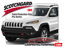 2018 Jeep Cherokee Trailhawk 3M Scotchgard PRO Clear Paint Protection Deluxe Kit