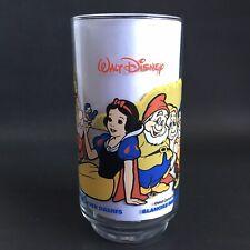 Walt Disney Snow White & Seven Dwarfs  Glass McDonalds / Coke-Cola Collectible