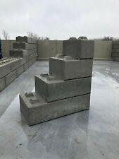 Betonblock Stapelblöcke 112,5x75x40 Betonbaublöcke Blocksteine
