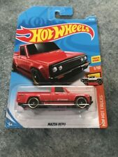 2018 HOT WHEELS MAZDA REPU RED HW HOT TRUCKS SERIES 1/10 COMBINE AND SAVE $$$