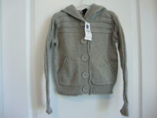 Gap Kids Gray Silver Cardigan Sweater Girl Size Small S 6 - 7 NWT Holiday Winter