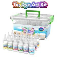 Tie Dye Kit Set of 18 Colours Ink Tie-Dye Kits for Dyeing Fabric Clothes 180pc