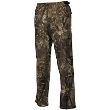 Mens Hunters Combat Trousers Military Cargo Pants Real Tree Brown Camo W27-W47