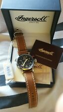 """Ingersoll Men's IN3218BK """"Lawrence"""" Automatic Movement Stainless Steel Watch NWT"""
