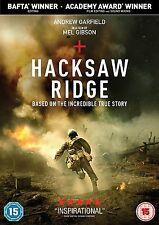 Hacksaw Ridge DVD 2017 Andrew Garfield Mel Gibson War Film True Story Brand New