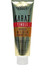 Body Butter KARAT TINGLE Dark & Hot Tanning Butter Infused With Helio Carrot Oil
