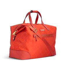 Vera Bradley Preppy Poly Travel Large Duffle Orange Luggage Carry On Duffle Bag