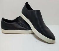 Ecco Gillian-Women's Black Side Zip Slip On Sneaker EU 42 US 11 UK 8.5