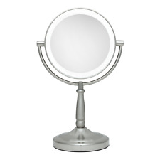 Zadro LEDV45 Cordless DUAL LED Lighted Vanity Mirror 1x & 5X Magnification