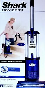 Shark NV105 Navigator Powerful Multi-Surface Light Upright Vacuum Cleaner Blue
