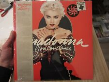 "MADONNA '87 original SEALED SIRE US LP ""YOU CAN DANCE"" w/ HYPE STICKER"
