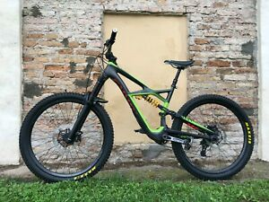 S Works Enduro Carbon 29 Mountain Bike - Race Face Mono Green - 27.5tires