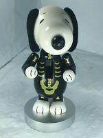 "Snoopy Peanuts Halloween Decoration Figurine Nutcracker 7-1/2"" Skeleton FS EUC"