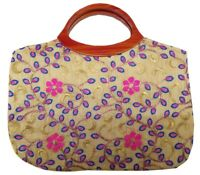 Indian Purse Ladies Vintage Traditional Embroidery  Hand Clutch Bag CL029PINK