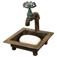 Primitive Country Faucet/Spigot Bath Soap Dish Kitchen/Bathroom Farmhouse Decor