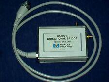 AGILENT HEWLETT PACKARD HP85027B 10 mhz-26 ghz bridge scalar analyzer 8756 8757