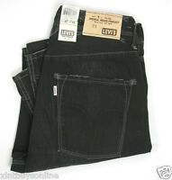 Levi's Tab Twills Slouch Skinny  Style #008164264 Black Wash 100% Cotton Levis