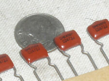 10 NEW DME4D47-1JCR RADIAL AUDIO FILM CAPACITOR .0047 UF MFD 4700PF 400V 472 USA