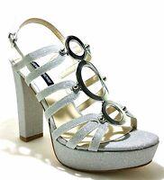 LUCIANO BARACHINI scarpe sandali donna liu gioiello decoltè tacco jo cerimonia