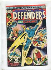 THE DEFENDERS #28 (5.0) FIRST APPEARANCE OF STARHAWK!