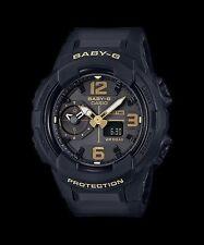 BGA-230-1B Black Casio Baby-G Ladies Watches Analog Digital Resin Band New