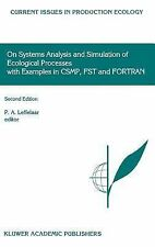 On Systems Analysis and Simulation of Ecological Processes with Examples in CSMP