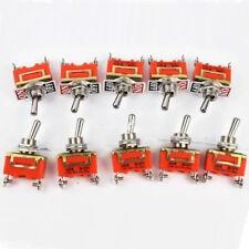 15A 250V 2 Pin Palanca Interruptor Tipo 1021  Enclavamiento Terminal Coche Dash