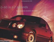 Auto Brochure - Mercedes-Benz - E420 - 1997 (AB643) - OS
